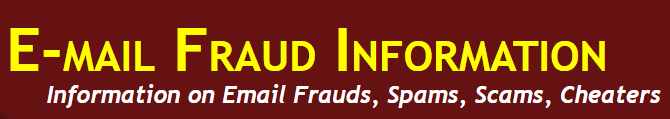 email fraud information